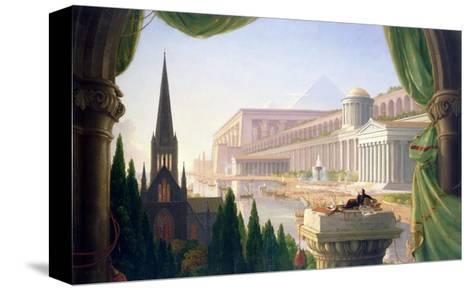 Architect's Dream-Thomas Cole-Stretched Canvas Print