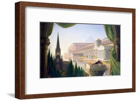 Architect's Dream-Thomas Cole-Framed Art Print