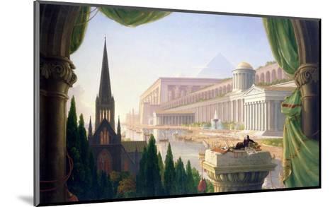 Architect's Dream-Thomas Cole-Mounted Giclee Print