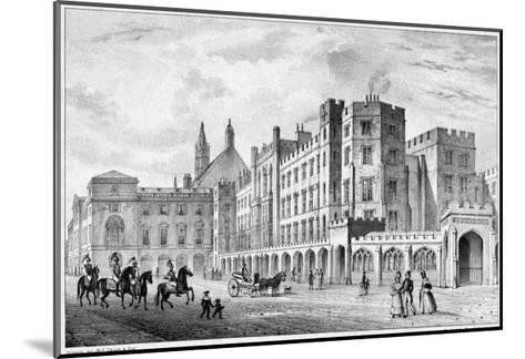 Print of Houses of Parliament before 1834 Fire--Mounted Giclee Print