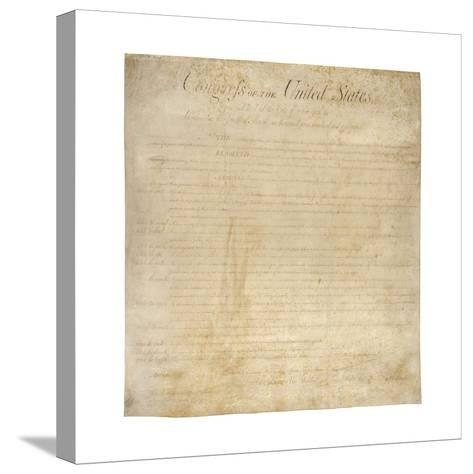 The Bill of Rights--Stretched Canvas Print