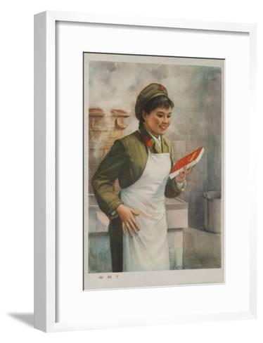Mao's Book Is Finally Here! Chinese Cultural Revolution--Framed Art Print