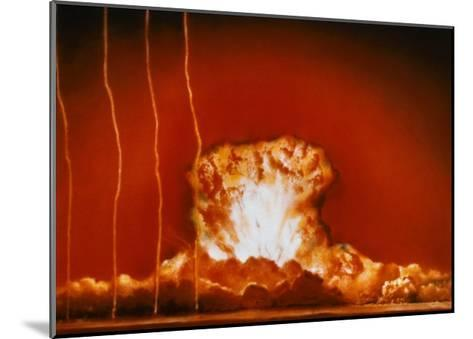 """Blast from """"Annie""""--Mounted Giclee Print"""
