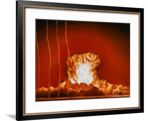 "Blast from ""Annie""--Framed Art Print"