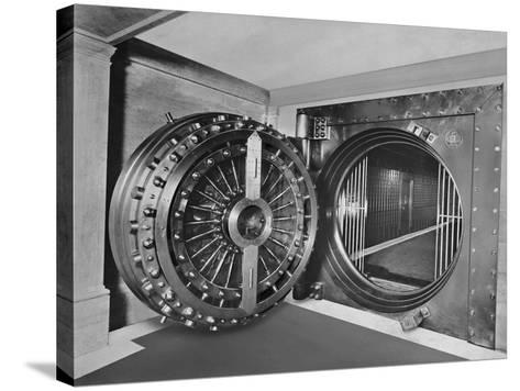 Bank Vault of Midland Bank--Stretched Canvas Print