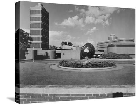 Johnson Wax Building-Frank Lloyd Wright-Stretched Canvas Print