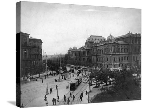University in Vienna--Stretched Canvas Print