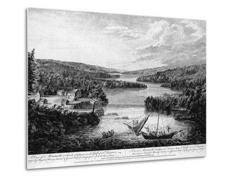 Miramichi Settlement on the Gulf of Saint Lawrence-Paul Sanby-Metal Print