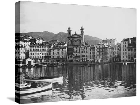 Waterfront--Stretched Canvas Print