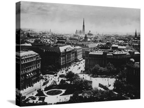 View of Vienna--Stretched Canvas Print