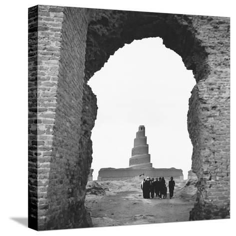 Replica Tower of Babel--Stretched Canvas Print