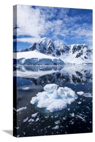 Mountain Peaks, Lemaire Channel, Antarctica--Stretched Canvas Print