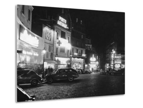 Place Pigalle--Metal Print