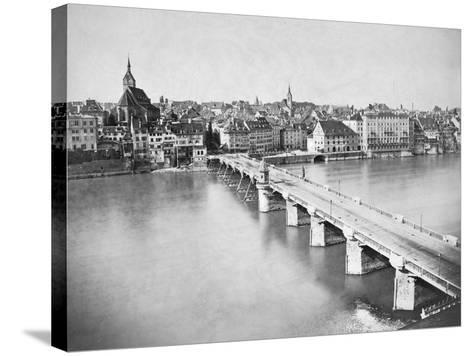 A View of Basel--Stretched Canvas Print