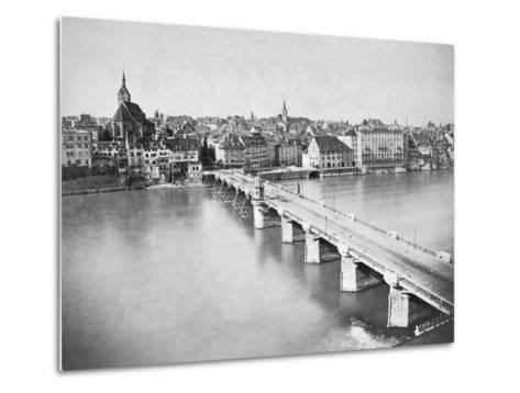 A View of Basel--Metal Print
