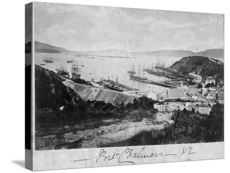 Port Chalmers--Stretched Canvas Print