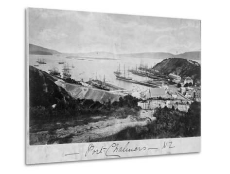Port Chalmers--Metal Print