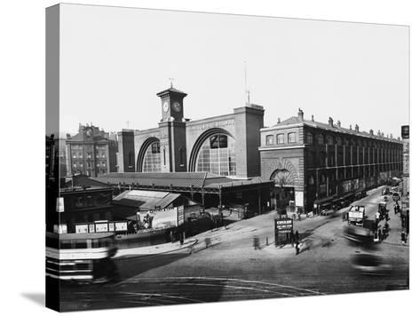 King's Cross Railway Station--Stretched Canvas Print