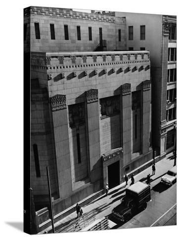 Pacific Coast Stock Exchange--Stretched Canvas Print