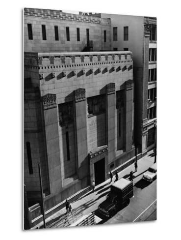 Pacific Coast Stock Exchange--Metal Print