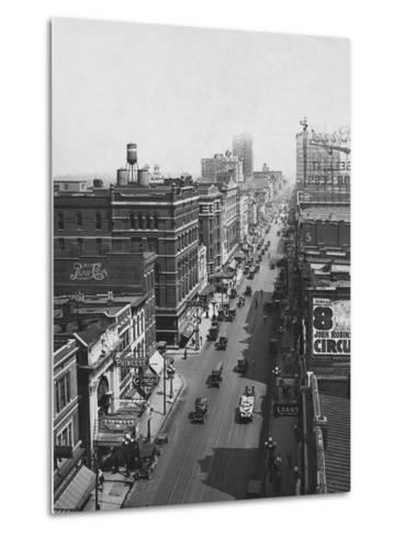 Main Street--Metal Print