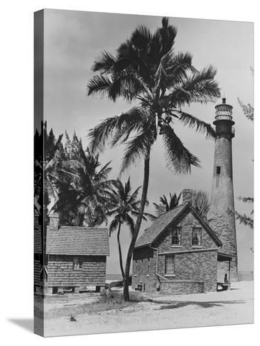 Lighthouse Museum in Key West--Stretched Canvas Print