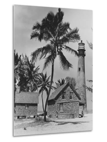 Lighthouse Museum in Key West--Metal Print