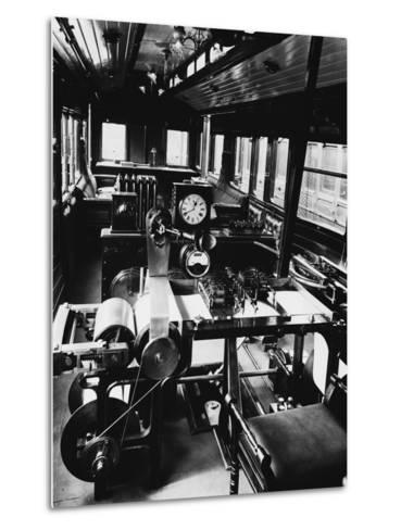 Dynamometer Car--Metal Print