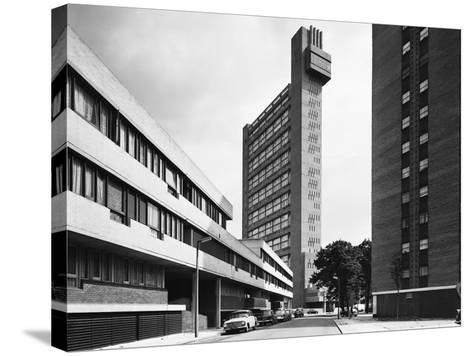 Trellick Tower in London--Stretched Canvas Print