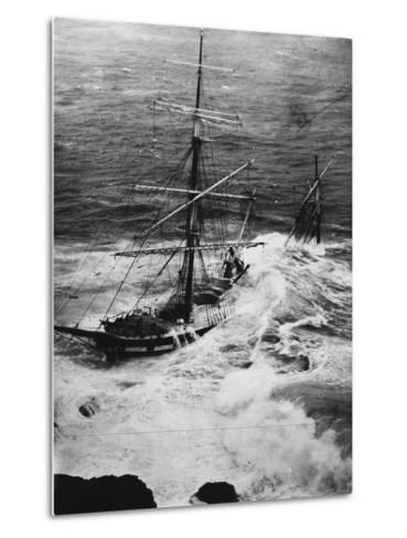 Shipwreck of the Cromdale--Metal Print