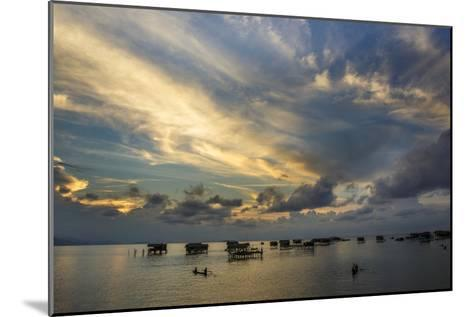 Sunset in Sabah, Malaysia1-Art Wolfe-Mounted Photographic Print