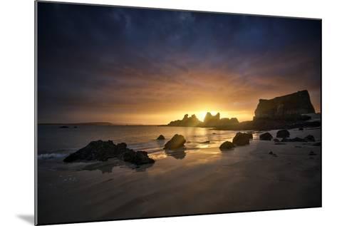 Morgat Sunrise-Philippe Manguin-Mounted Photographic Print
