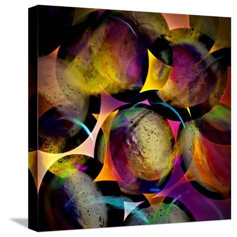 Abstract with Circles-Ursula Abresch-Stretched Canvas Print