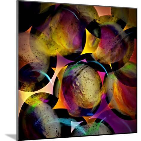 Abstract with Circles-Ursula Abresch-Mounted Photographic Print