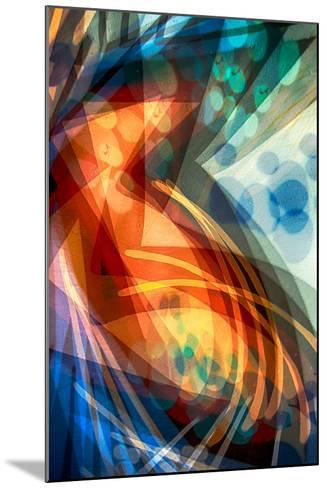 B (Colorful Abstract)-Ursula Abresch-Mounted Photographic Print