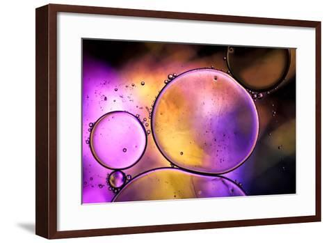 Purple Worlds-Ursula Abresch-Framed Art Print