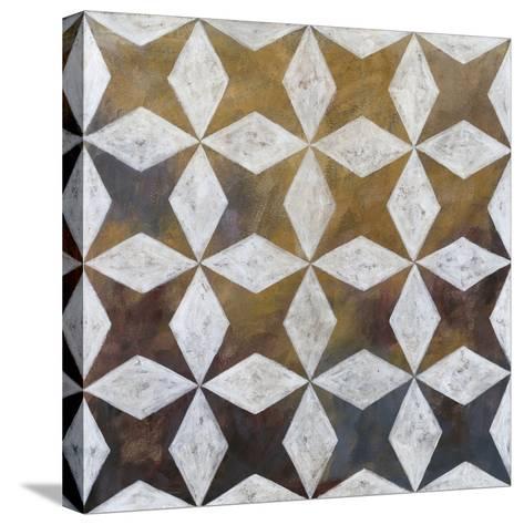 Royal Pattern I-Megan Meagher-Stretched Canvas Print
