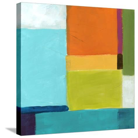 City Square III-June Vess-Stretched Canvas Print