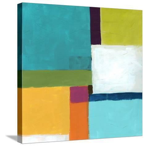 City Square IV-June Vess-Stretched Canvas Print