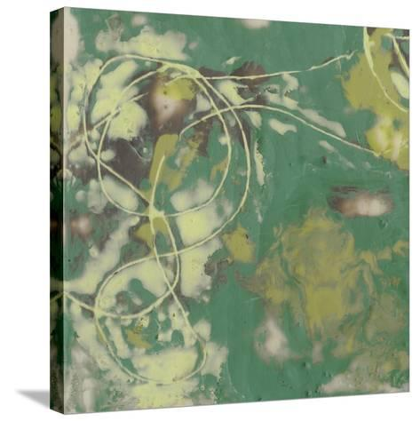 Entwined Emerald II-Jennifer Goldberger-Stretched Canvas Print