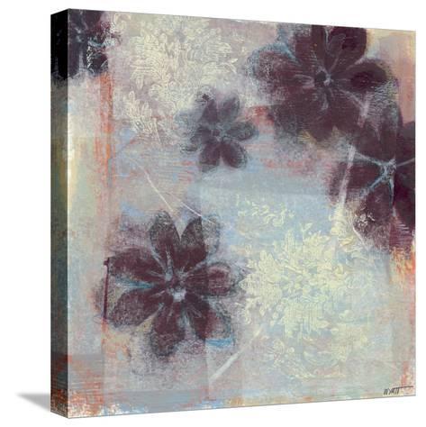 Mauve Resonance I-Norman Wyatt Jr^-Stretched Canvas Print