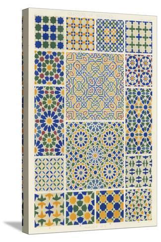 Moorish Design-Owen Jones-Stretched Canvas Print