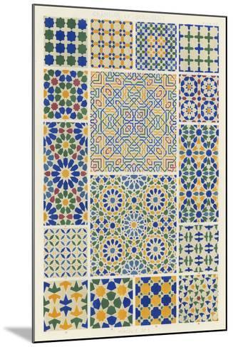 Moorish Design-Owen Jones-Mounted Art Print