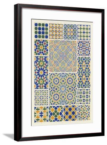 Moorish Design-Owen Jones-Framed Art Print