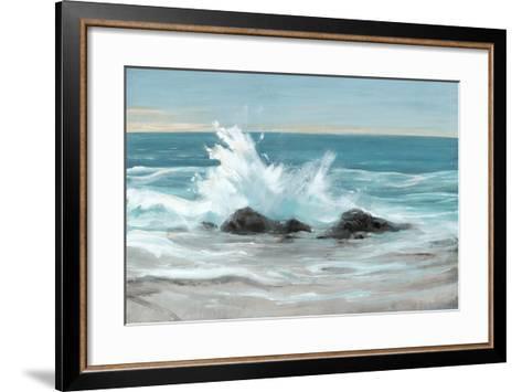 Crashing Wave II-Tim O'toole-Framed Art Print