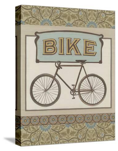 Bike-Erica J^ Vess-Stretched Canvas Print