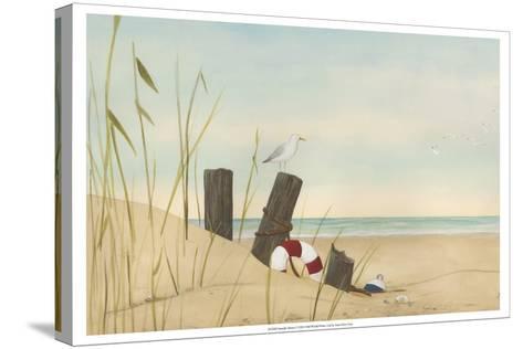 Seaside Dunes I-Erica J^ Vess-Stretched Canvas Print
