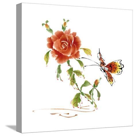 Summer Rapture III-Nan Rae-Stretched Canvas Print