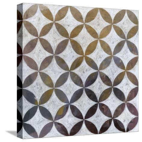 Royal Pattern II-Megan Meagher-Stretched Canvas Print