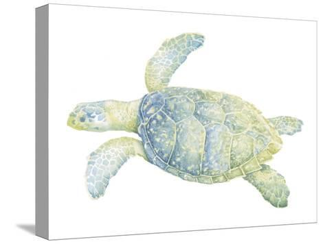 Tranquil Sea Turtle II-Megan Meagher-Stretched Canvas Print